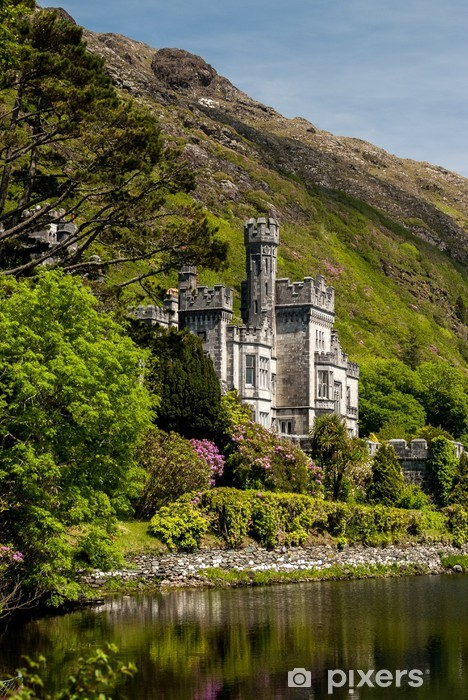 Kylemore Abbey Ireland Pixerstick Sticker - Themes