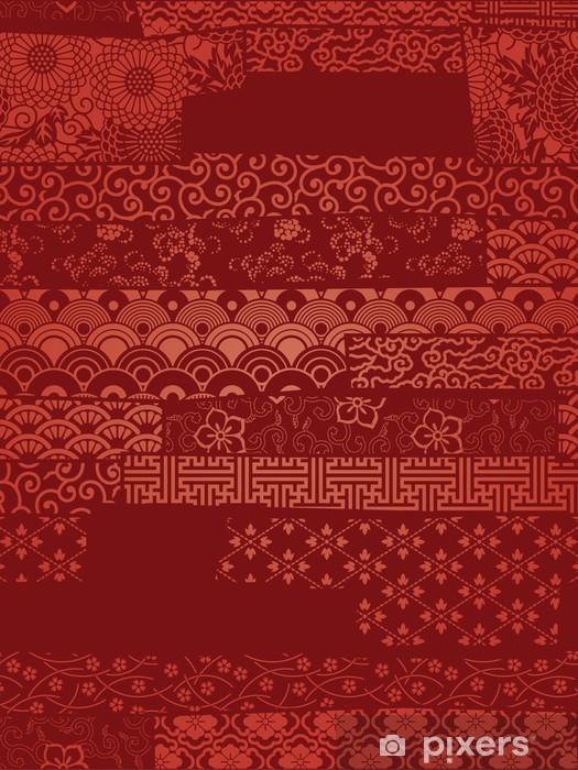 Oriental Vector Wallpaper Wall Mural Pixers We Live To Change