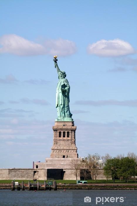 Sticker Pixerstick Statue entière de la liberté - Villes américaines
