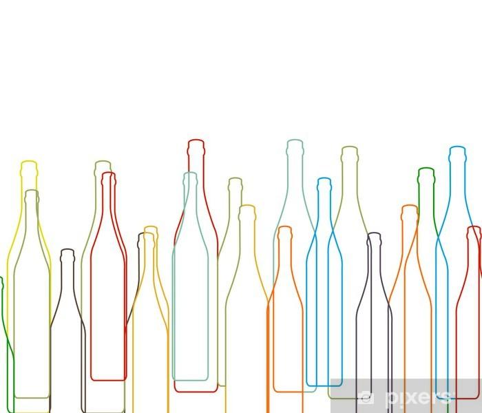 Carta Da Parati Bottiglie.Carta Da Parati Sfondo Con Bottiglie Set Pixers Viviamo Per Il Cambiamento