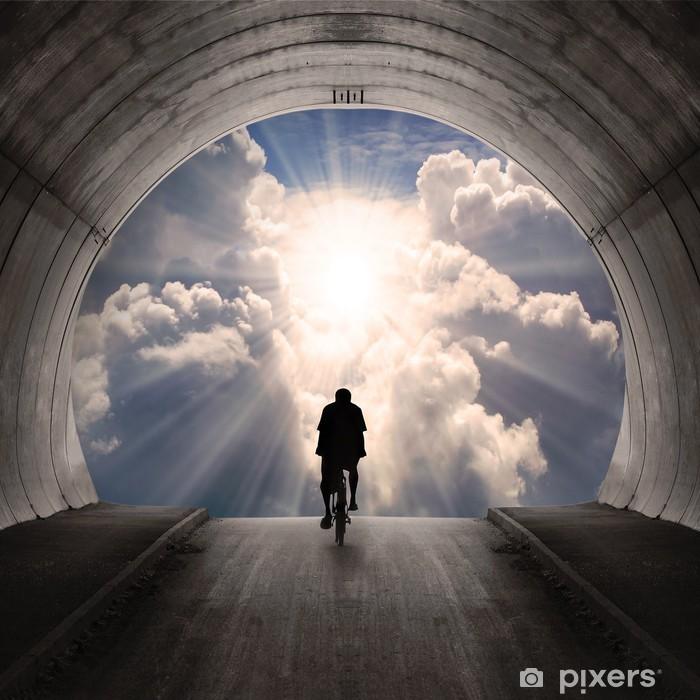 Fototapeta winylowa Światło na końcu tunelu - Tematy