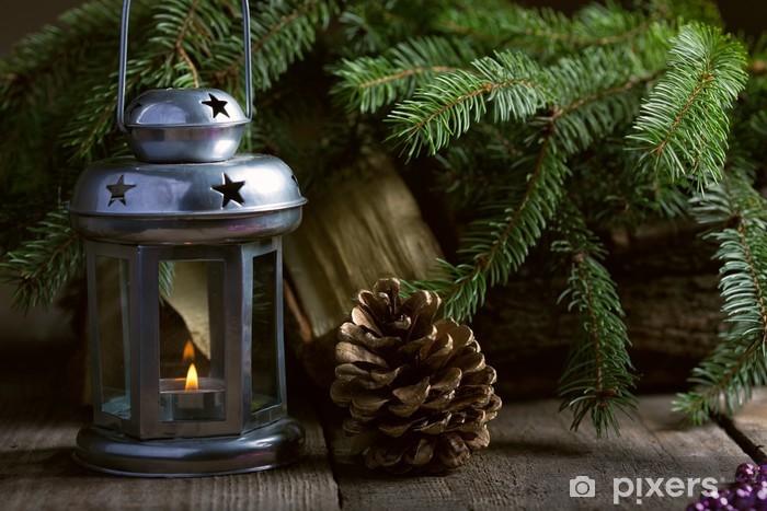 Fototapeta Winylowa Boże Narodzenie Dekoracje