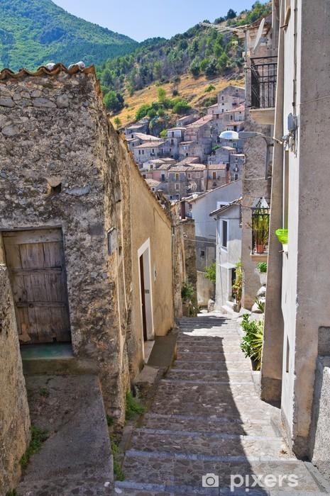 Alleyway. Morano Calabro. Calabria. Italy. Vinyl Wall Mural - Themes