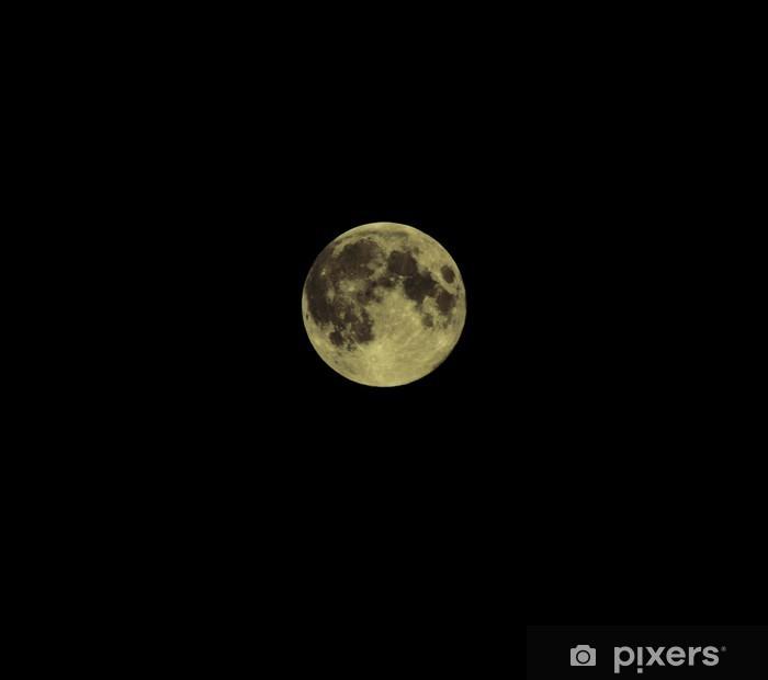 Papier peint vinyle La lune - Thèmes