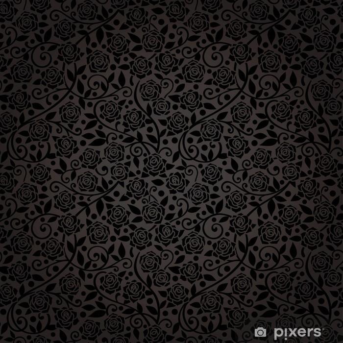 Adesivo sfondo di lusso come il rosa nera di velluto u pixers