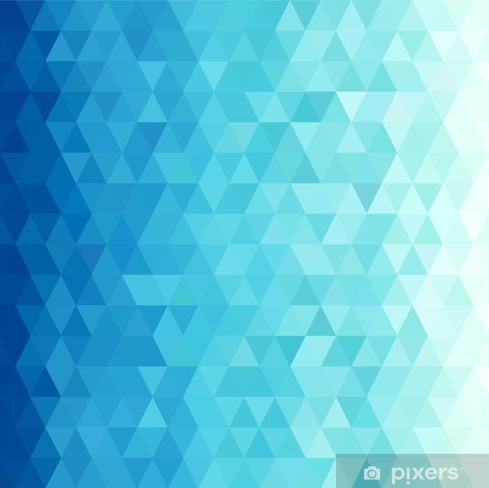 Poster Backgorund de l'eau Résumé - Géométrie