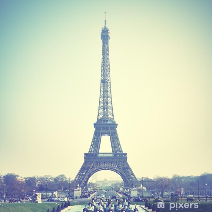 Papier peint vinyle La tour eiffel - Europe