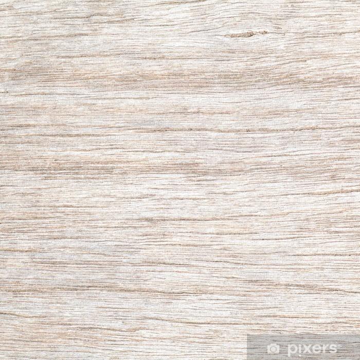 Papier peint vinyle Blanc texture de bois naturel et de fond sans soudure - iStaging