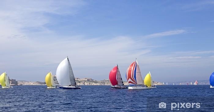 Carta da Parati in Vinile Gara di barche a vela - Europa