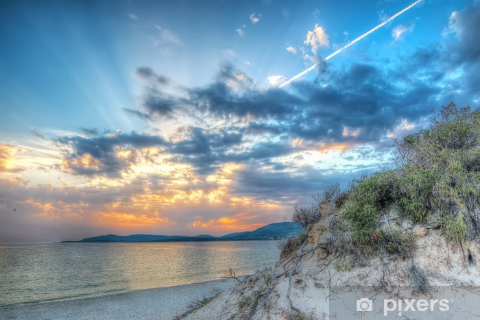 Fototapeta winylowa Hdr plaża - Europa