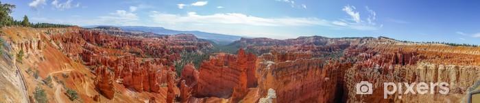 Vinyl Fotobehang Prachtige panorama van Bryce Canyon National Park - Woestijnen