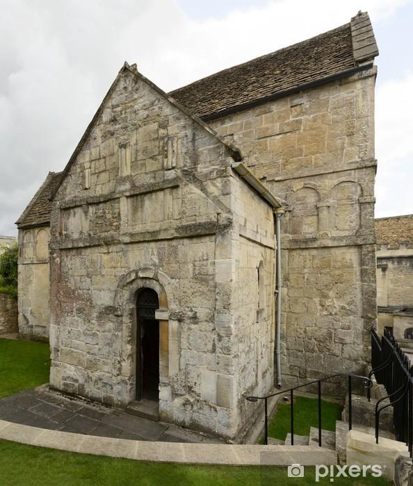Papier peint vinyle Côté de l'église saxonne de Saint-Laurent, Bradford on Avon - Europe
