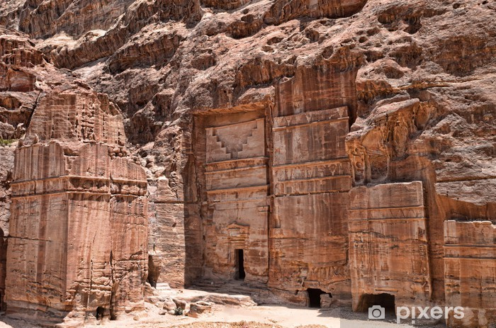 Fototapeta winylowa Petra - Afryka