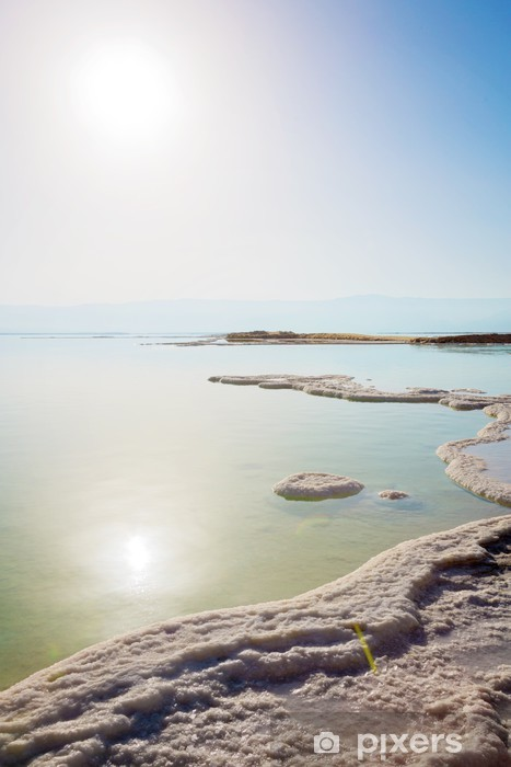 Pixerstick Dekor Dead Sea landskap - Landsbygd