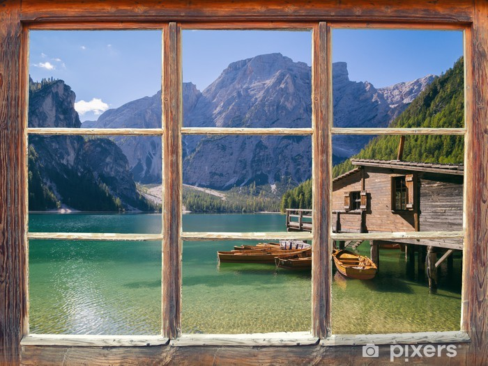 Fototapeta winylowa Widok z okna - Tematy