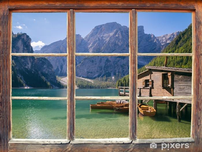 Naklejka Pixerstick Widok z okna - Tematy