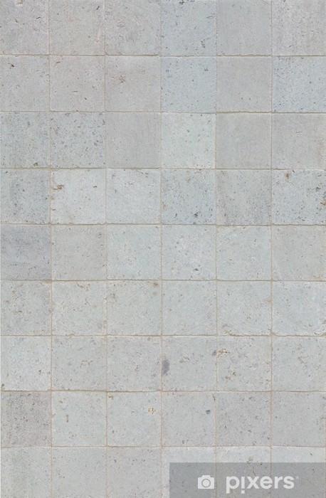 Natural Grey Stone Brick Wall Texture