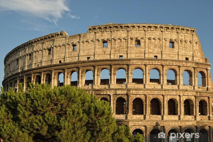 Papier peint vinyle Le Colisée à Rome - Thèmes