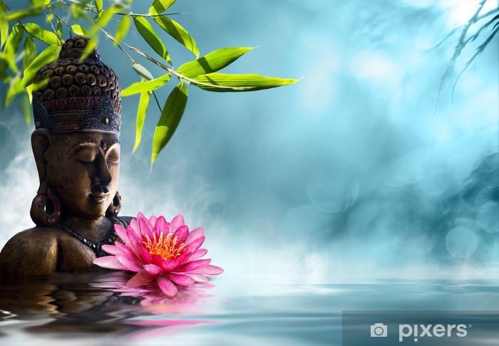 Papier peint vinyle Bouddha en méditation - Styles