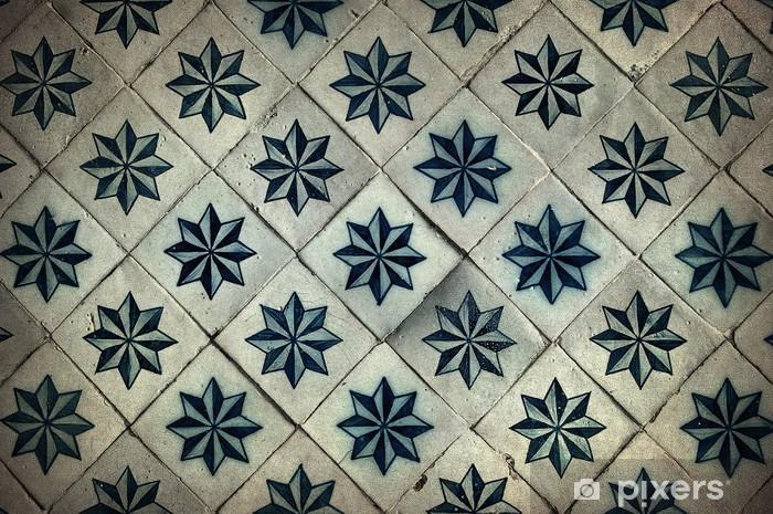 Portugese Tegels Vinyl : Fotobehang vintage tegels traditionele portugese tegels u pixers