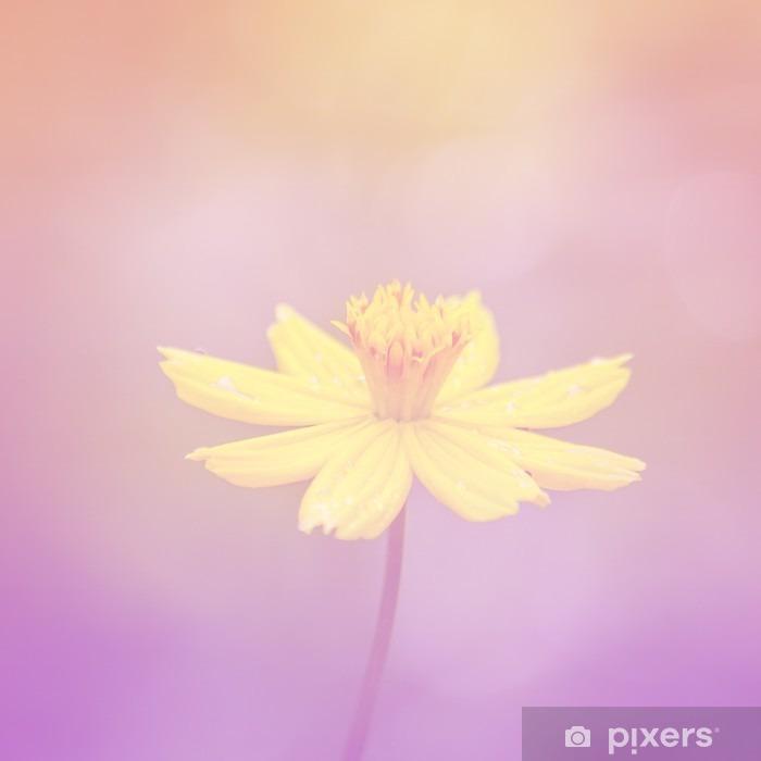 Poster Fleurs dans les styles de pastel. - Plantes et fleurs