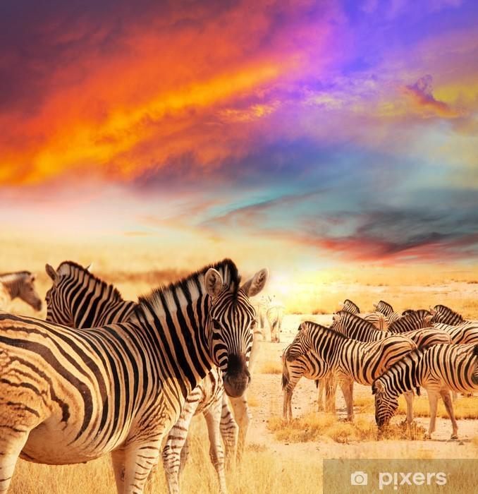 Naklejka Pixerstick Zebra - Tematy