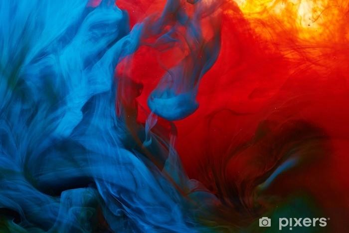 Papier peint vinyle Splash de peinture abstraite - Passe-temps et loisirs