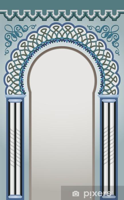 Papier peint vinyle Illustration Vecteur de décoratif Arc - eps 10 - Monuments