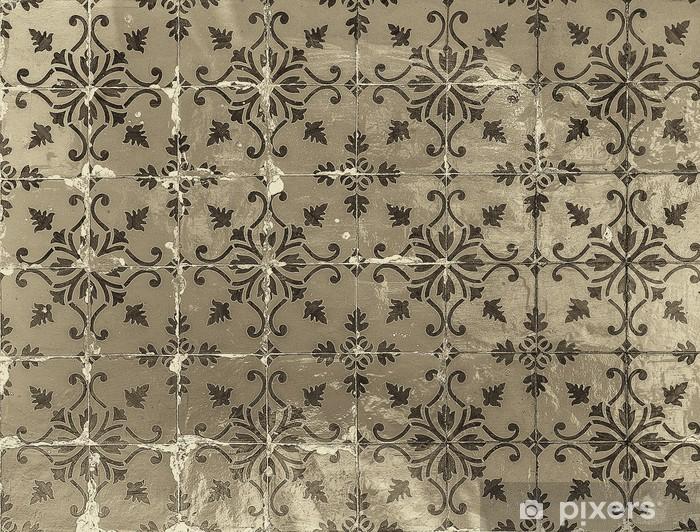 Fototapeta winylowa Rocznika azulejos, tradycyjne portugalskie płytki - Style