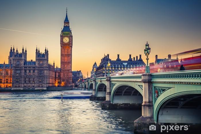 Fototapeta winylowa Big Ben i Houses of Parliament, Londyn - Tematy