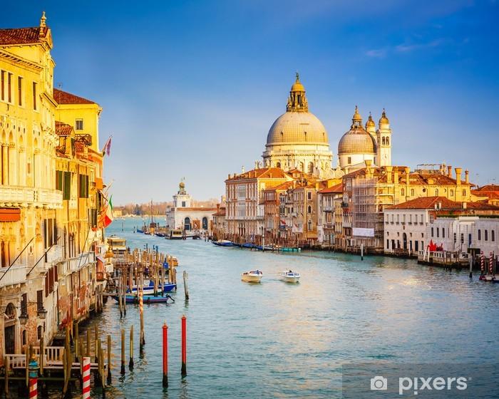 Papier peint vinyle Venise à la soirée ensoleillée - Thèmes