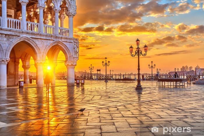 Sunrise in Venice Pixerstick Sticker - Themes