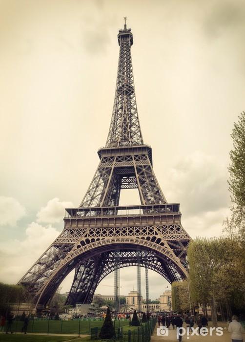 Vinyl Fotobehang Tour Eiffel in Parijs - Thema's