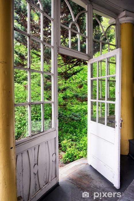 Fototapeta winylowa Stary ogród zimowy - Budynki prywatne
