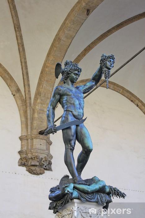 Perseus With The Head Of Medusa By Benvenuto Cellini Sticker Pixerstick