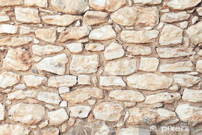 Papier peint Contexte photo texture du mur de pierre jaune • Pixers® - Nous vivons pour changer
