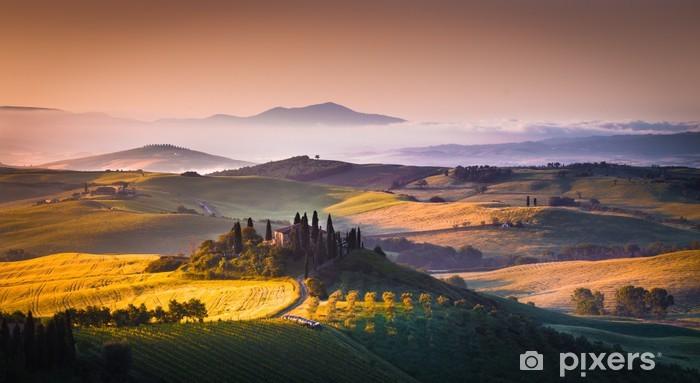 Fototapeta winylowa Toskania panorama - Tematy