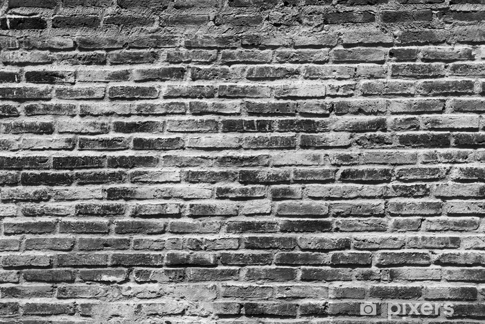 Black And White Brick Wall Background Wall Mural Pixers We Live To Change