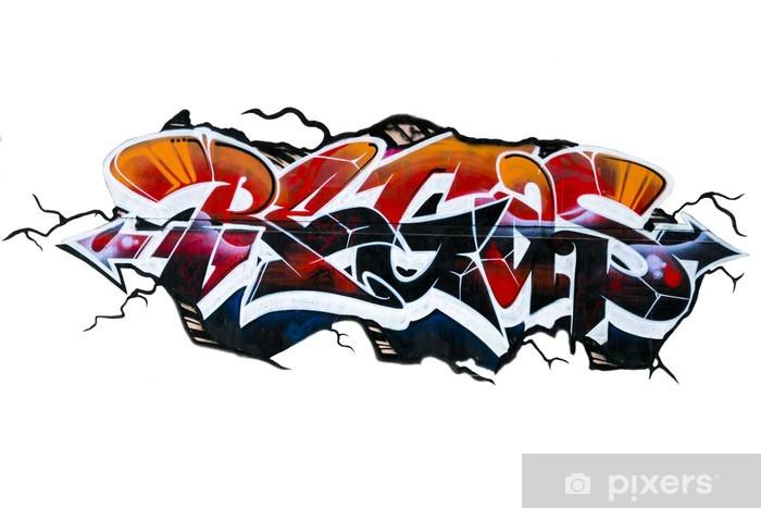 Nálepka Pixerstick Grafitti - Nálepka na stěny