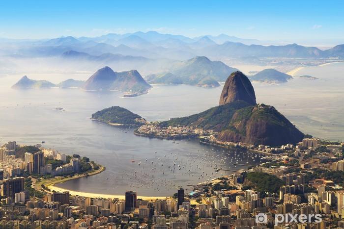 Papier peint vinyle Sugarloaf, Rio de Janeiro, Brésil - Brésil