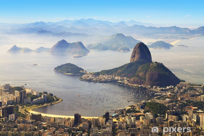 Vinilo Pixerstick Pan de Azúcar, Río de Janeiro, Brasil - Brasil