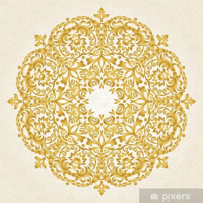 Vinilo para Nevera Ornamento del vector en estilo victoriano. - Temas