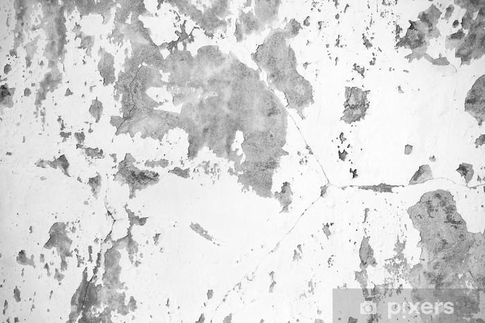 Fotomural Fondo De La Textura De La Pared Blanca Concreto Sucio