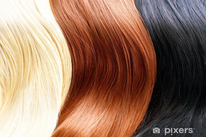 Sticker Couleurs De Cheveux Palette Couleurs De Cheveux Blonds