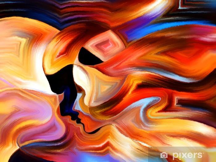 Vinilo Pixerstick Fuente de Pintura Interior - Temas