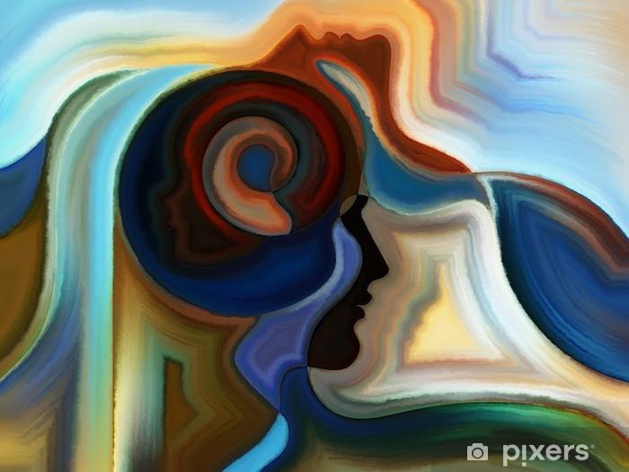 Vinyl Fotobehang Vivid Inner Paint - Kunst en Creatie