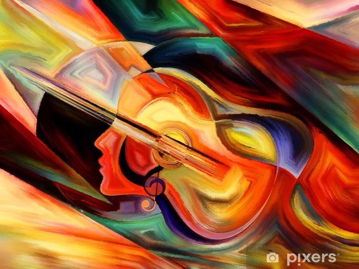 Papier peint vinyle Vie intérieure de Musique - Thèmes
