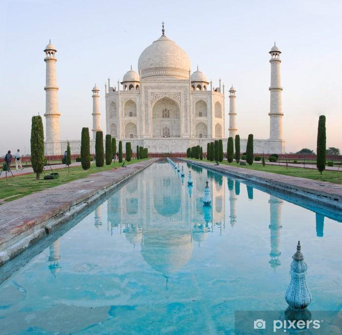 Fototapet av Vinyl Taj Mahal i Agra, Indien - Asien