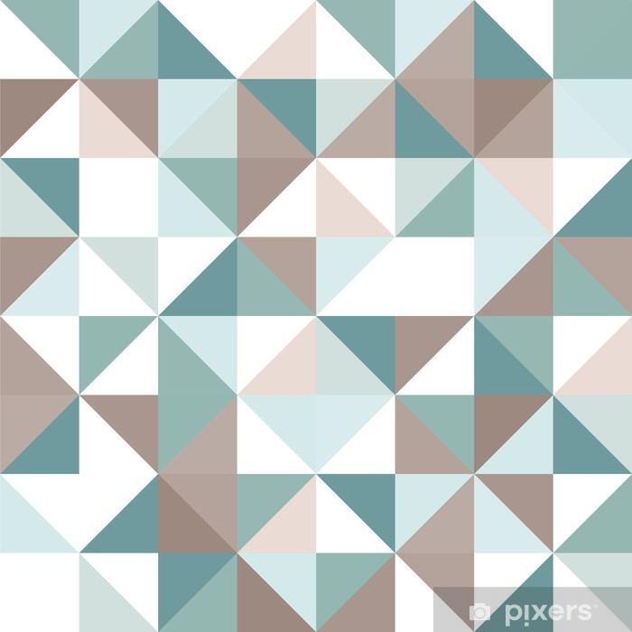Triangle seamless pattern Framed Poster - Themes