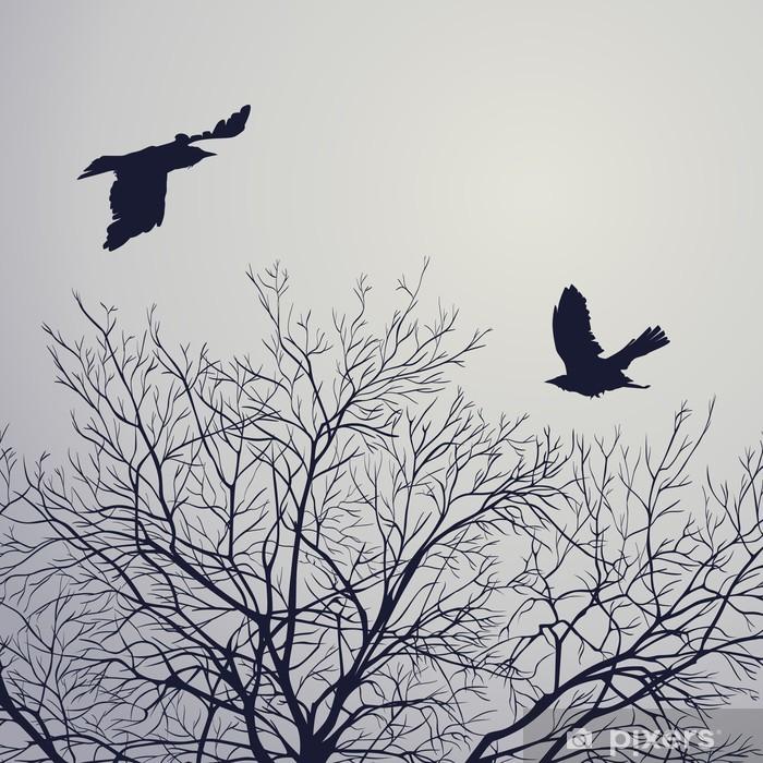 Poster Crows - Pour salon